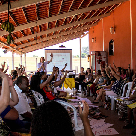 Seminário reúne mulheres e crianças para partilhar angustias e construir esperança