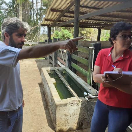 Assessoria da AEDAS realiza visita técnica aos abrigos dos animais mantidos pela Arcelor