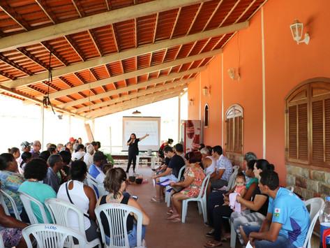 AEDAS realiza seminário para escutar as famílias que tiveram que sair de suas casas devido ao PAEBM