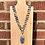 Thumbnail: Blue Advenurine and Agate Necklace