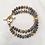 Thumbnail: Double Strand Labrodorite Bracelet
