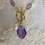 Thumbnail: Amethyst and Pearl Necklace