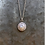 Thumbnail: Silver Coin Pearl Necklace