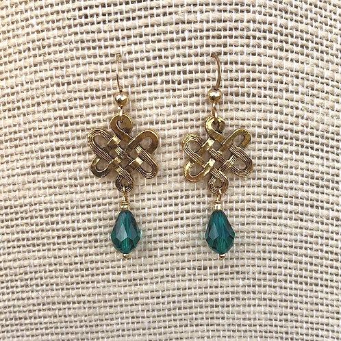 Celtic Link Earrings
