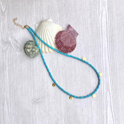 Summer Turquoise Necklace