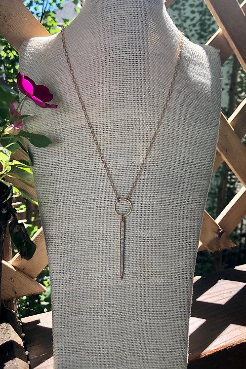 CZ Spike Necklace