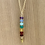 Thumbnail: Chakra Gemstone Necklace