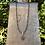 Thumbnail: Pewter Fleur de Lis and Pearl Necklace