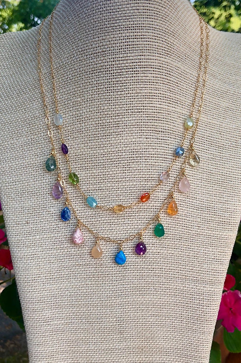 Layers of Rainbow Gems
