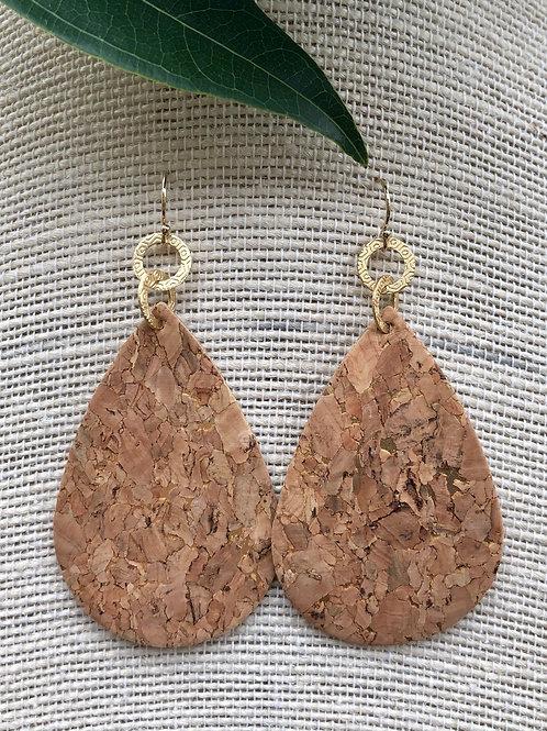 Statement Cork Earrings