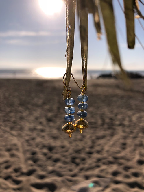 Kyanite Earring