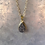 Thumbnail: Charcoal Druzy Necklace