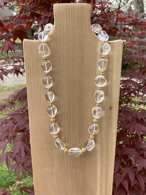 Crystal Nugget Necklace