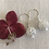 Thumbnail: Silver Filigree Drop Earrings