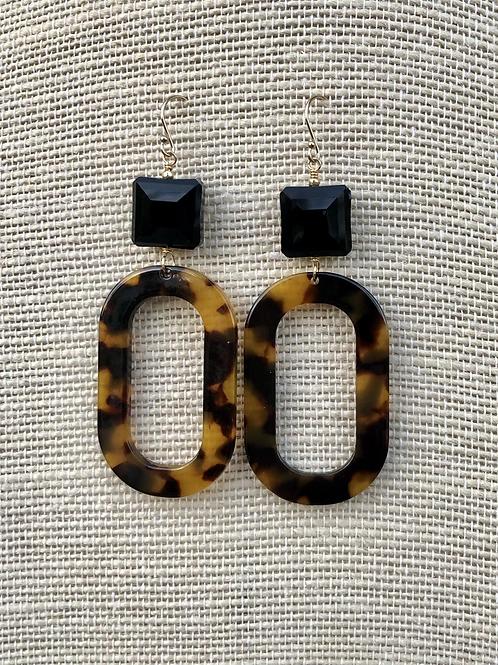 Statement Tortoise Earrings