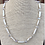 Thumbnail: Stick Pearl and Crystal Necklace