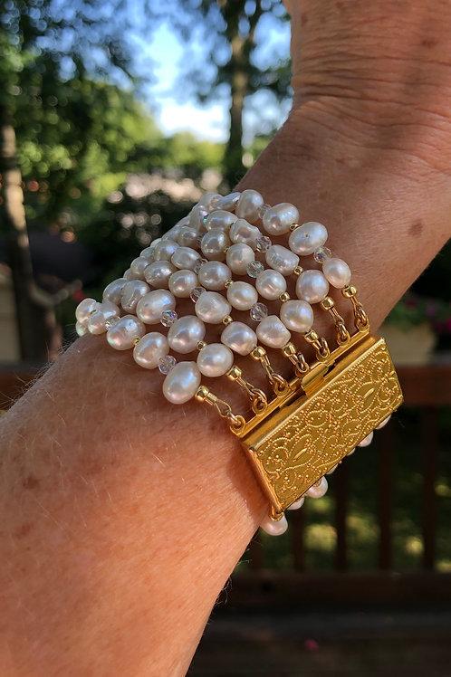 Seven Strands of Elegance Bracelet