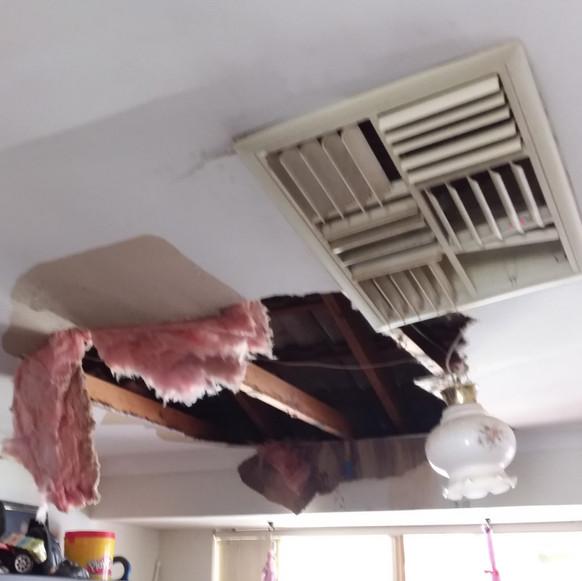 Ceiling Make Safe