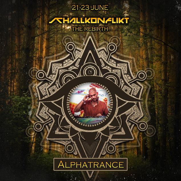 Alphatrance -  Schallkonflikt Open Air Festival 2019 - The Rebirth