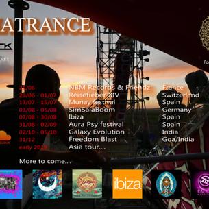 Alphatrance's dates