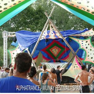 Alphatrance - Munay festival - Spain