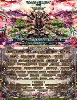 Alphatrance at Psychedelic dedication festival - Germany 2017