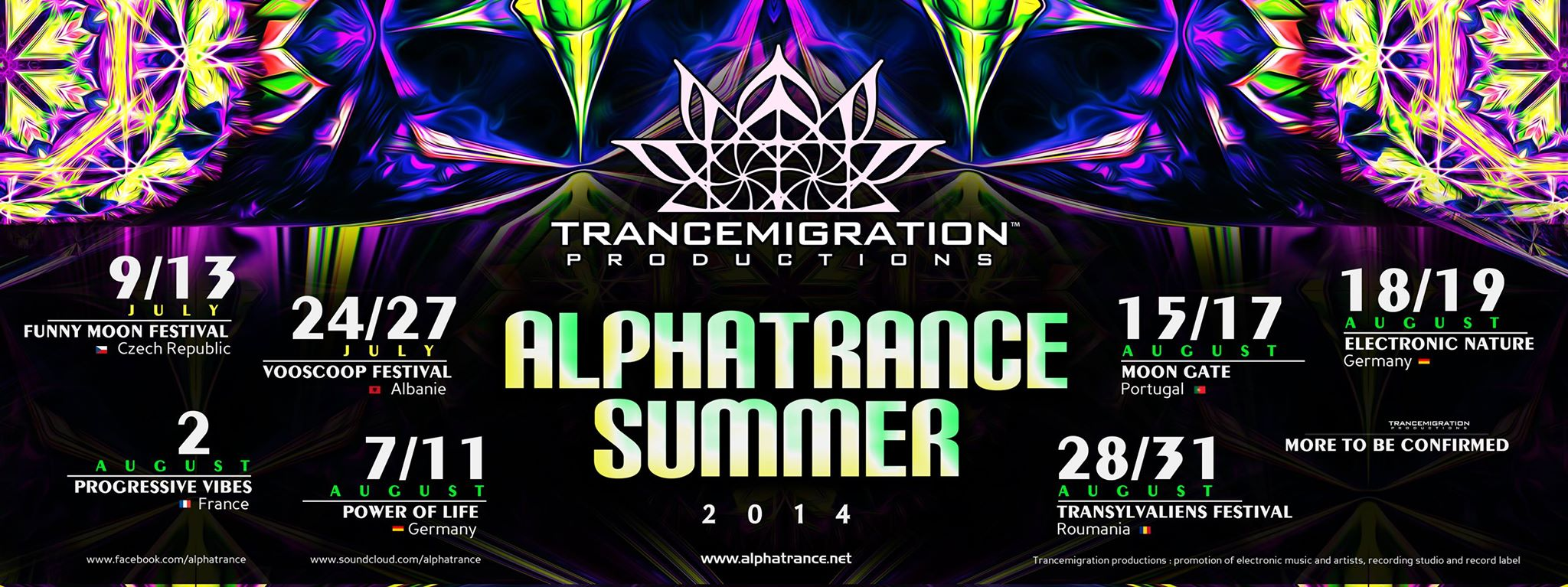 Alphatrance summer tour 2014