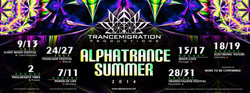 Alphatrance summer tour 2014