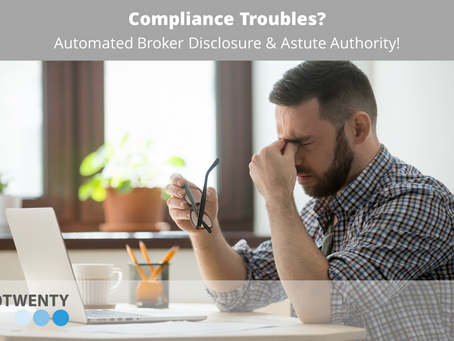 Compliance Troubles?  There's hope!