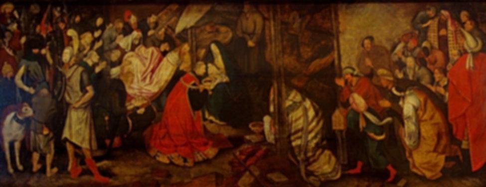 Peinture - L'adoration des Mages - Brueghel