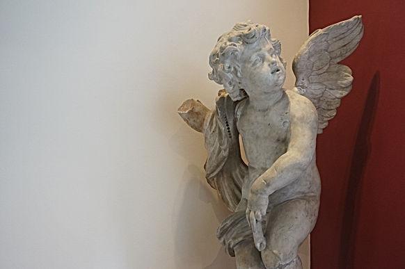 Sculpture - Angelot -Arnould Quellin