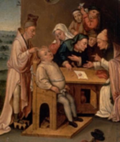 Peinture - Extractin de la pierr de folie - Henri Met De Bles