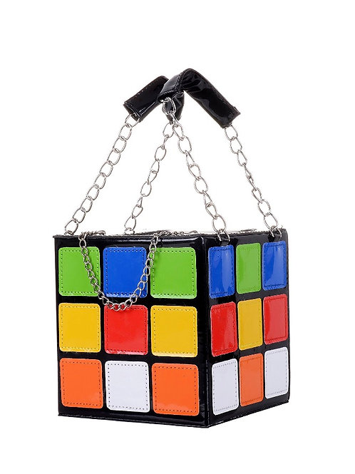 """Remember This"" Cube Purse"