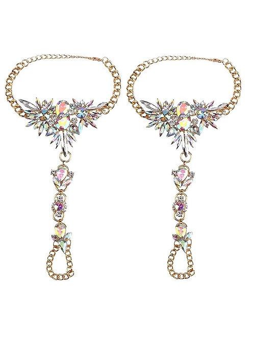 Starburst Bling Foot Jewelry