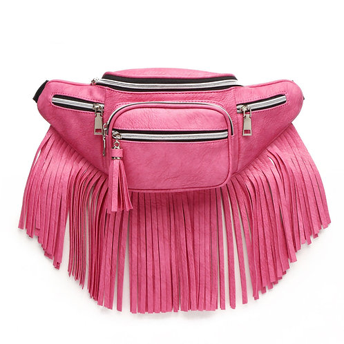 Saddle Up Fringe Fanny Bag
