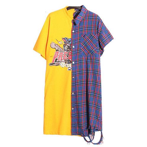 Her Vs She T-shirt Dress