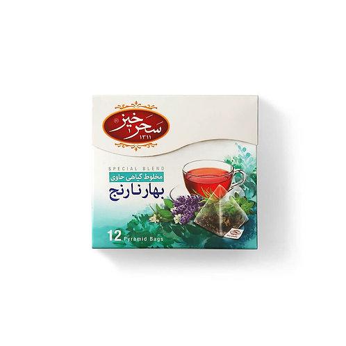 Infusion Relaxante aux Herbes (Fleur d'Oranger) 12 Sachets Pyramid 2gr