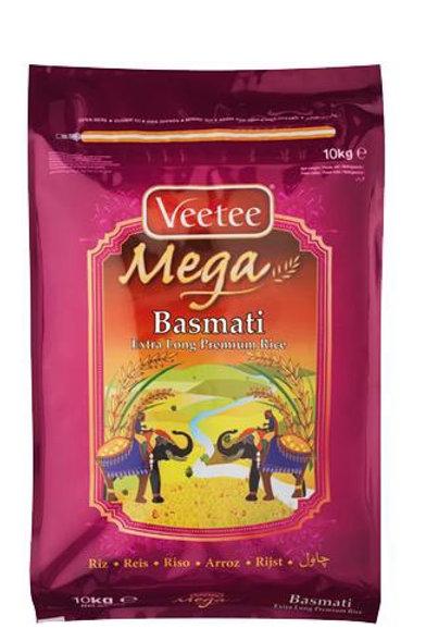 VeeTee Mega Premium Riz Basmati  10 kg