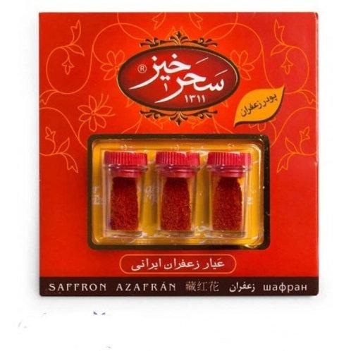 Safran en poudre 1,5 grammes Saharkhiz