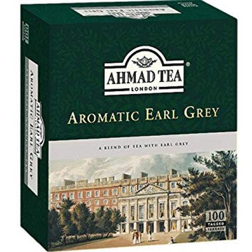 Thé Ahmad - Earl Grey Aromatique - 100 sachets