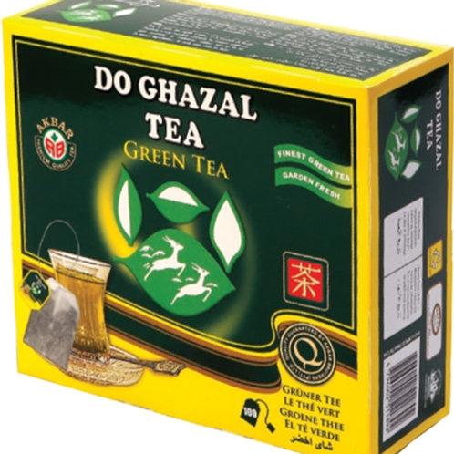 Thé vert do ghazal  100 sachets