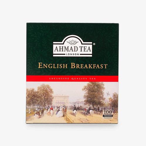 Thé English Breakfast - 100 sachets de thé étiquetés