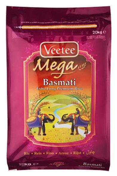 VeeTee Mega Premium Riz Basmati  20 kg