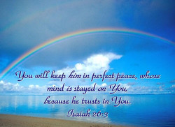 Shalom Shalom Perfect Peace