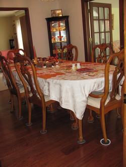 A New Dining Floor