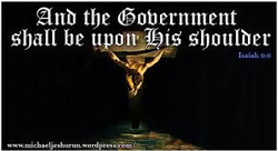 And the government shall be upon his sho