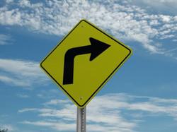 God's right turn