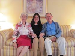 Jingjing's visit from China