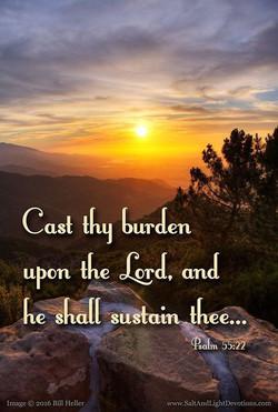 The blessing of Resting in God's Lov