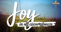 Joy in all circumstance